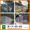 Factory pvc coated ornamental iron fence decorative wrought iron fence