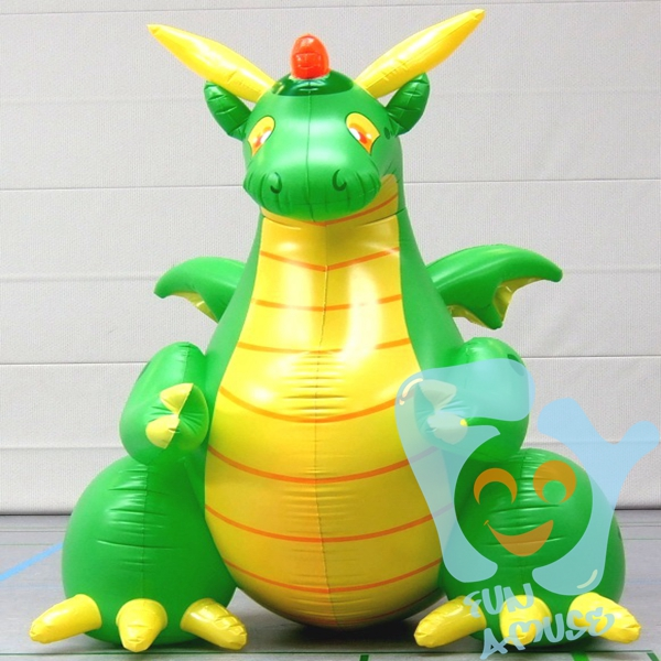 Pactory price custom outdoor giant advertising inflatable sea dragon