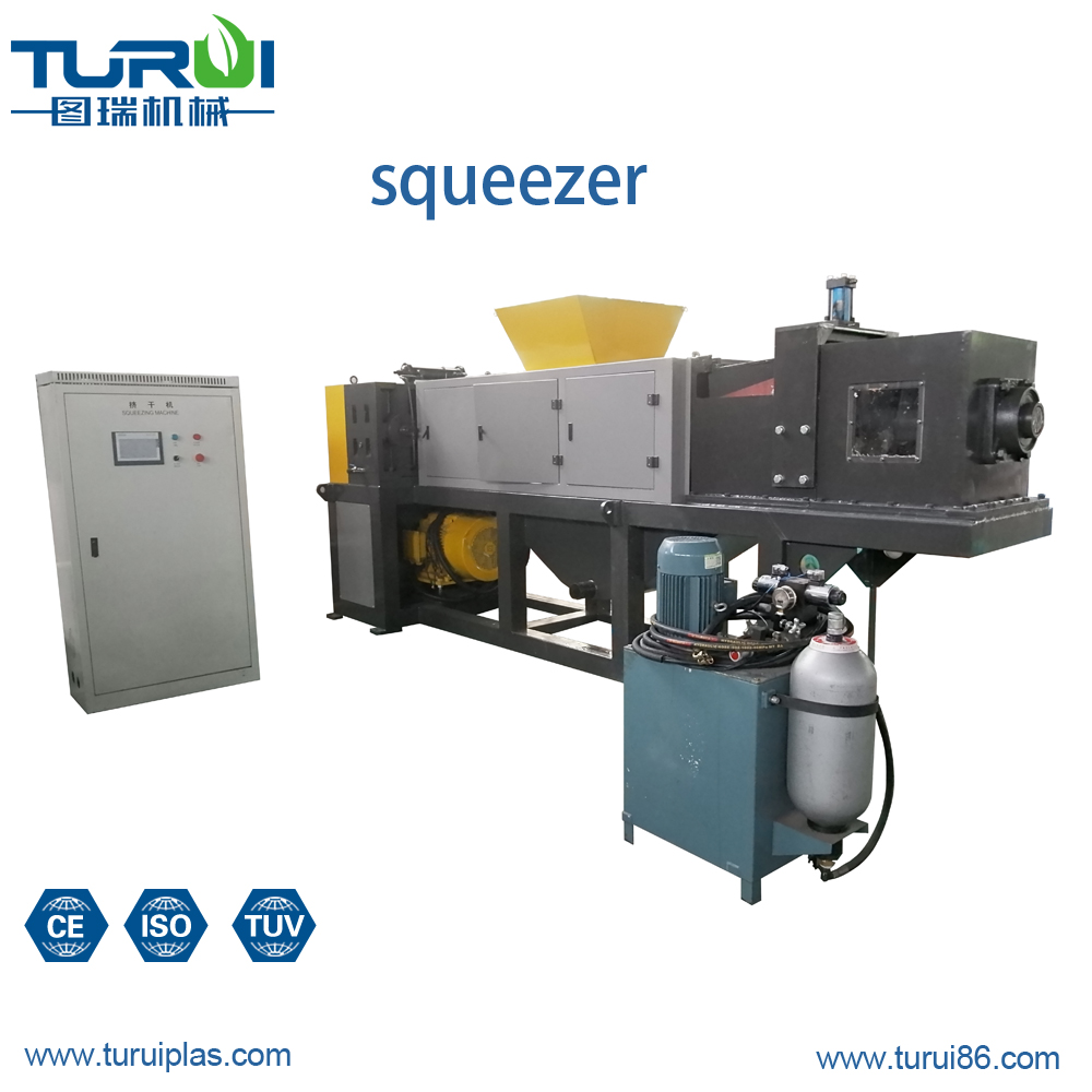 WITH CE ISO With axle SQG380L pe pp plastic films Squeezer