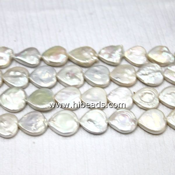 Natural heart shape pearl LPS0088-0055-1