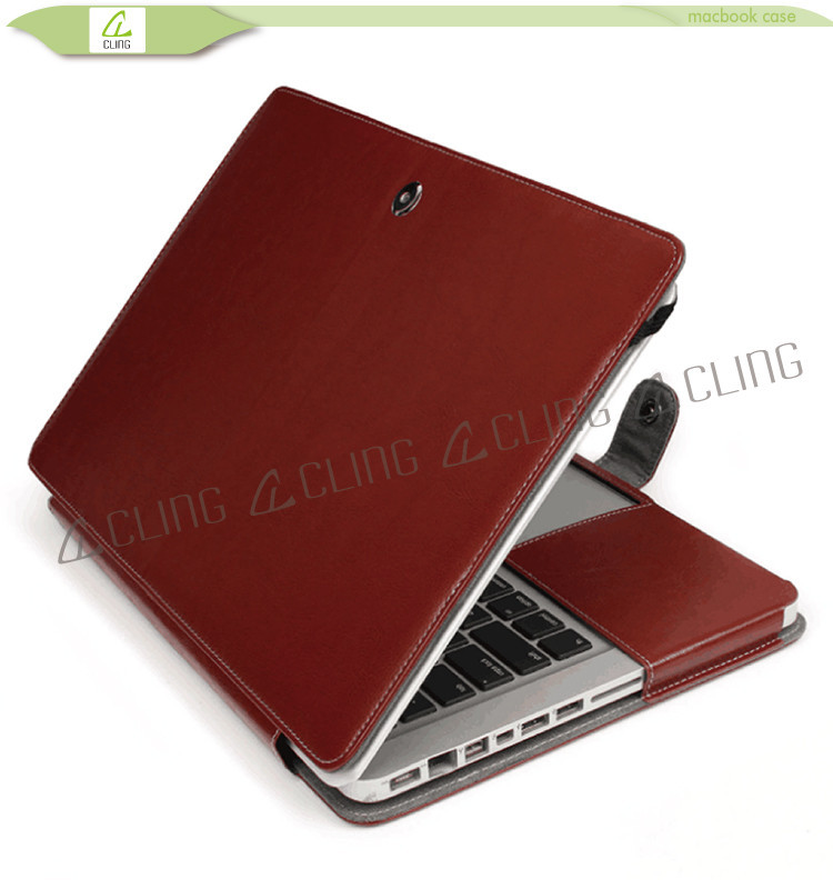Fashion design for macbook leather 13 inch laptop sleeve ,leather cover for macbook air 13,for macbook a1342 topcase