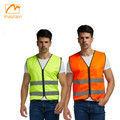 360 degree work reflective safety vests with pocket