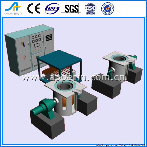 Medium frequency vacuum induction melting furnace/25KG vacuum furnace