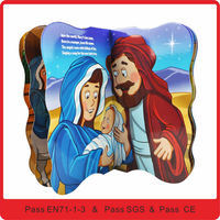 Holy Board paper covers bible book printing