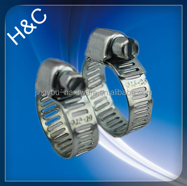 Useful competitive price zhejiang oem 8mm bandwidth perforated band hose clip