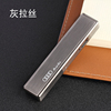 Fashion Double-sided USB Charging Lighter Ultra Thin Windproof Electronic Cigarette MLT51