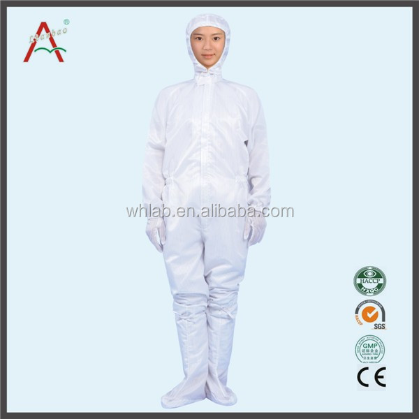 Reusable 3 Piece Anti-static Cleanroom Suit