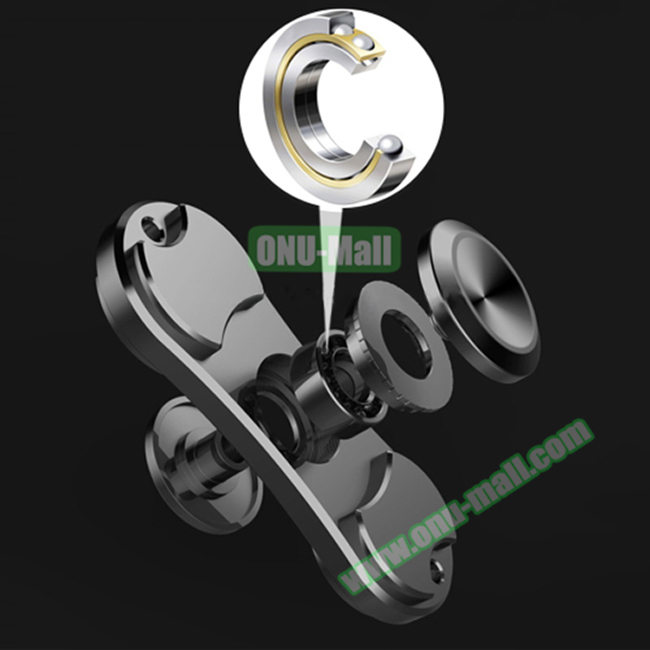 China Supplier 3 Minutes Two Leaves Stress Reducer Finger Spinner Toy