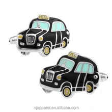 New design Men's Cufflinks Car Taxi Cuff Lins for Shirt