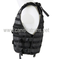 Low factory price MOLLE tactical army military combat bulletproof vest CL4-0033BK