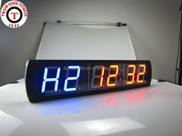 China Manufacturing Digital LED Programmable 6 digits led gym timer