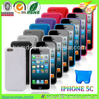 Newest !!! Wholesale for iPhone 5C cases ! Hot Selling Cheapest (various colors large in stock)