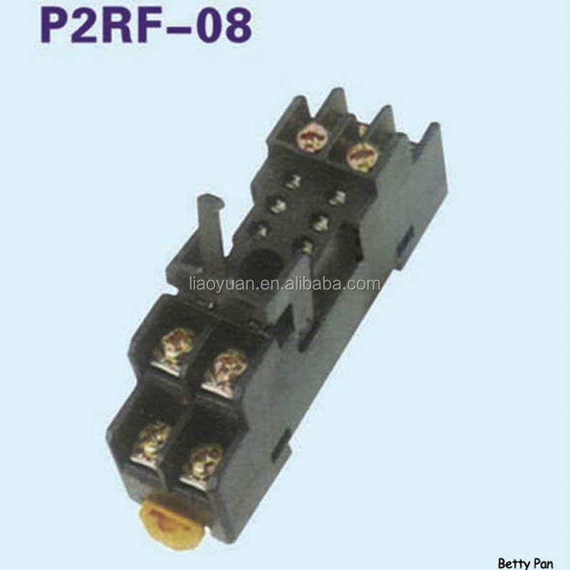 P2RF-08 ANLY TIMER RELAY SOCKET