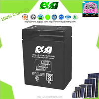 Tools battery 6 volt Rechargeable lead acid battery 6v 4.5ah