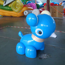 blue lovely standing alibaba china rubber inflatable animals