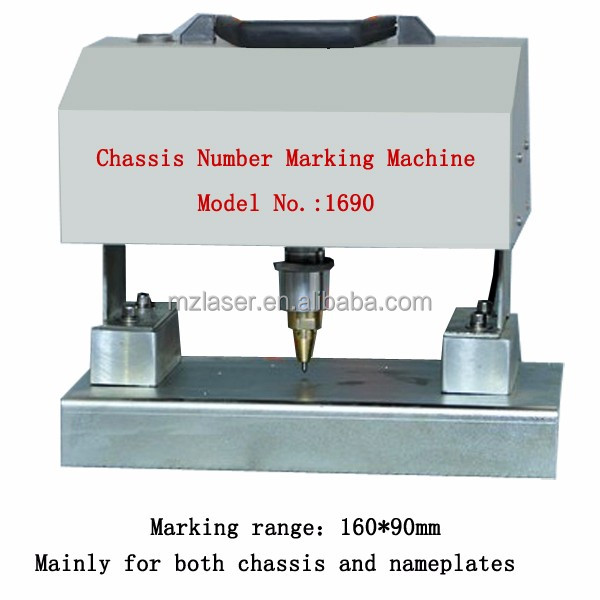 China Factory supply New Hot sale Dot Peen Marking Machine Portable for VIN Numbers