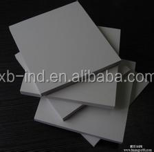 Extruded rigid grey pvc sheet,construction board/dark grey pvc