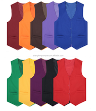 Hot sell promotional vest with button can add custom logo for sales promotion also many colors to choose