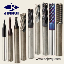 HRC 40-70 Solid Tungsten Carbide Variable Helix EndMills