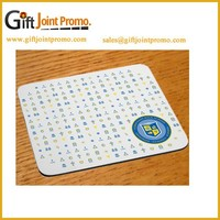Promotional OEM Rubber Printed Mouse Pad