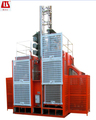 High Efficiency Low Energy! Double-cage SC200/200 Construction Elevator for Sale