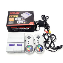 400 AV Retro Game Player Built-in 400 Classic Games TV Video Game Console with 2 Controller