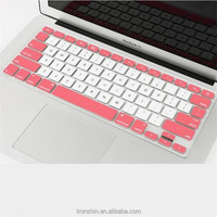 Super Thin Silkscreen Printing Waterproof Silicone Keyboard Guard Skin for 13'' Laptops