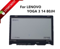 Laptop LED screen For LENOVO YOGA 3 14 80JH lcd assembly LP140WF3-SPL2 N140HCE-EBA touch screen