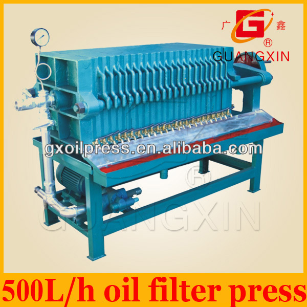 big capacity black seed oil filter used in medium cooking oil factory