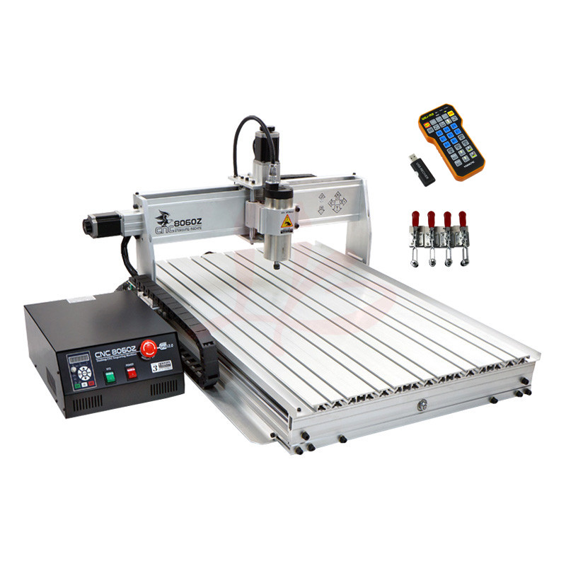 LY <strong>CNC</strong> 8060Z 2.2kw 3 axis <strong>CNC</strong> router with USB port for wood, metal, aluminum cutting milling engraving machine,also have 6090