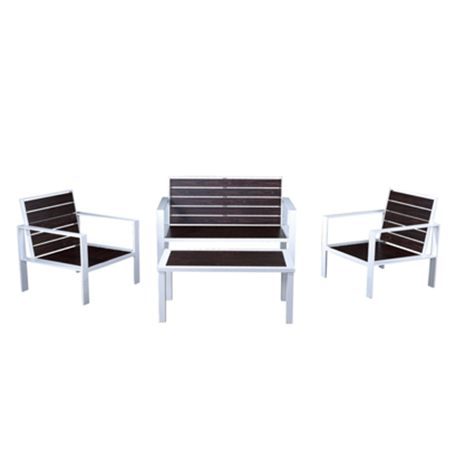 In and out simple sofa set with lowest price living room aluminum sofa set furniture