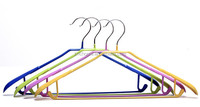 metal clothes hanger pvc coated made by factory