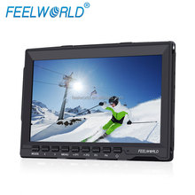 High resolution 1280*800 7 inch IPS screen battery powered portable monitor hdmi with good viewing angle