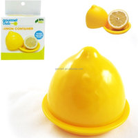 Plastic BPA Free Lemon fresh keeper fruit keeper veggies storage box