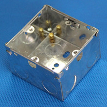 electrical concealed box metal junction box 3x3 back box