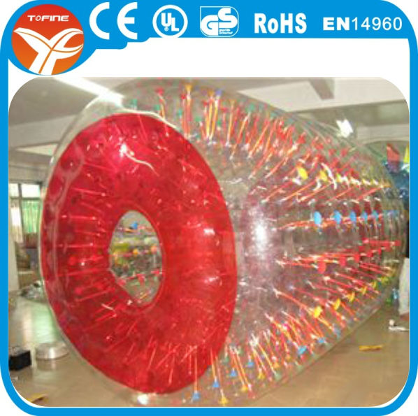 water inflatable balls ride