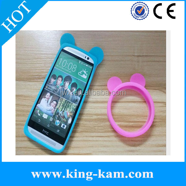 bumpers universal silicone manufacturer design hot selling ring case for cell phone silicone wrist ring case