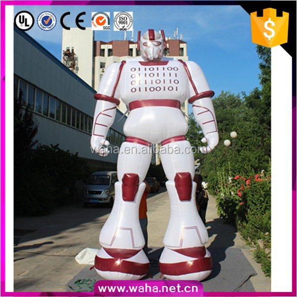 Customized giant inflatable toy robot sex doll for event decorations