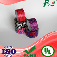 Beautiful strong adhesive hotmelt single side printed duct tape manufacturer