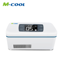M-COOL Diabetics portable insulin cooler box holiday and travel for car 24hours standby time CE&ROHS Approval medicool bag
