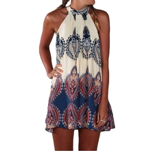 Women Mini Summer Dress Plus Size Vestidos Beach Dress