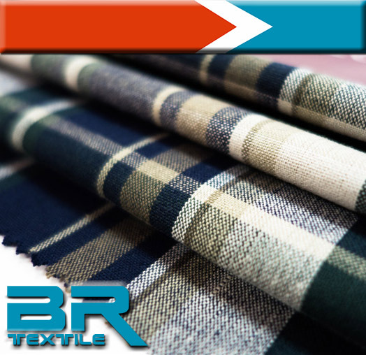 Exports to South Korea 100%cotton make to ord Cotton fabric used to Shirt,Garment with Poplin cotton fabric