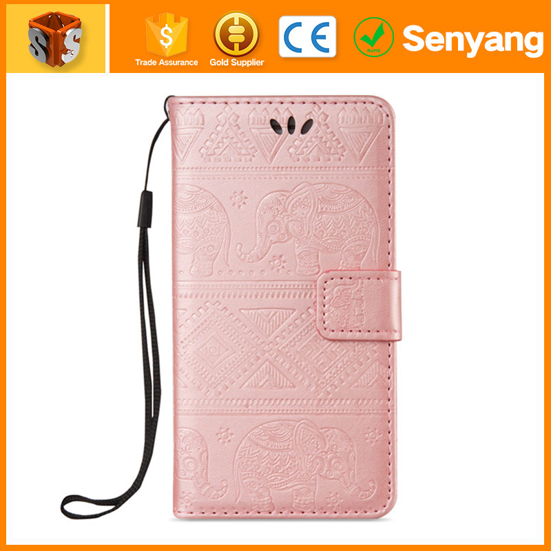 Alibaba China factory pu leather cover for iphone 5s