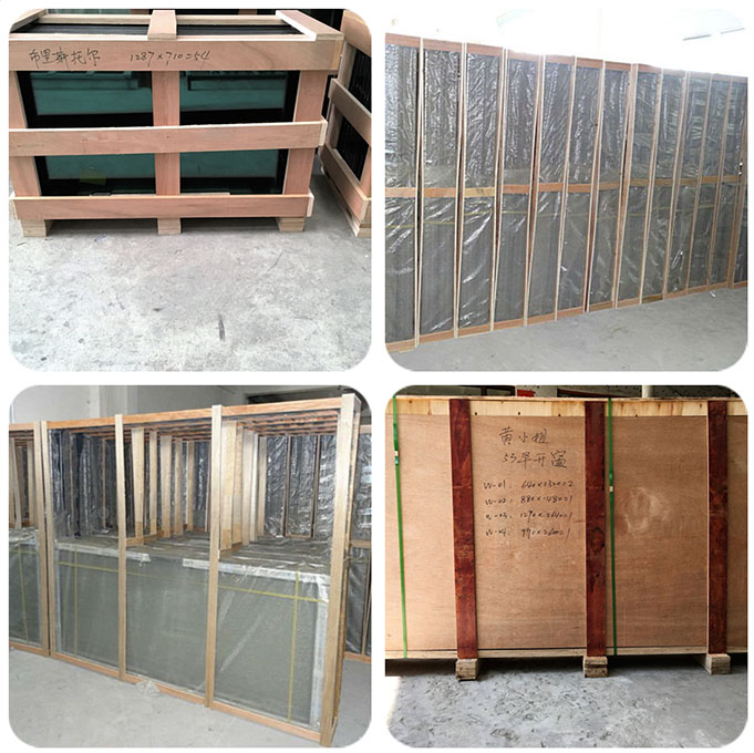 China factory aluminium curtain wall widely use in commercial building