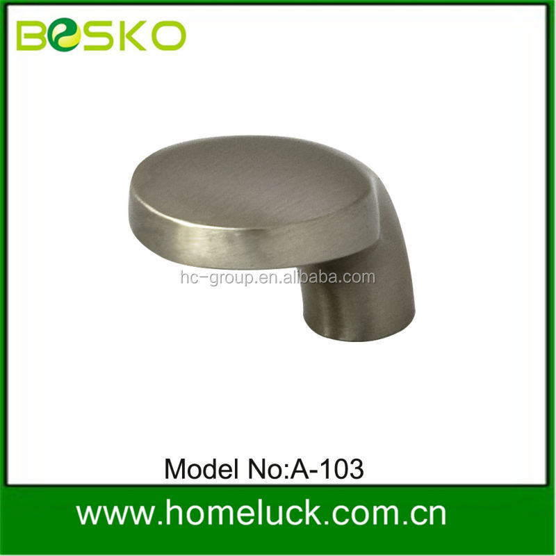 High quality zinc alloy office chair pull knobs from factory