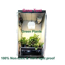 one bedroom black colour grow tent kit indoor grow ten single-deck keep warm greenhouse frames for sale
