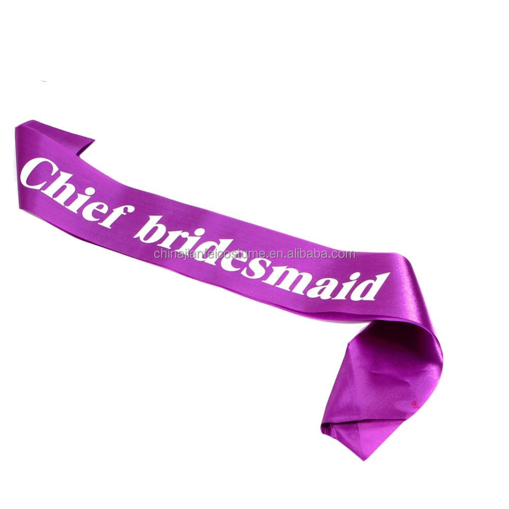 Custom Printed Queen Pageant Sash