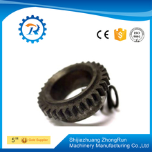rotating lift table/flywheel ring gear/worm gear lift table