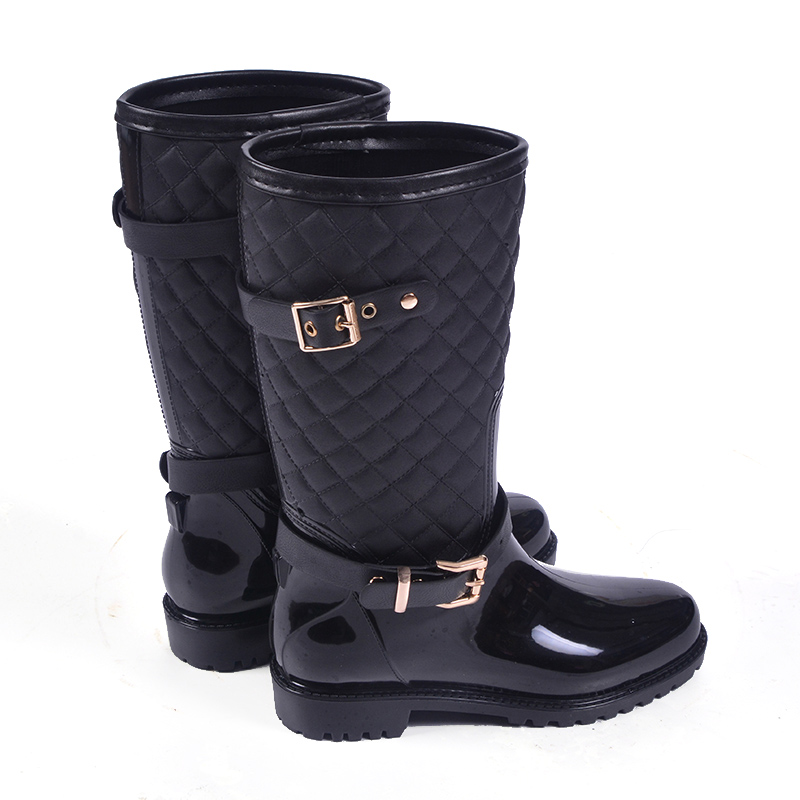 2016 High Quality Waterproof Non-slip Rain <strong>Boots</strong> for Women Wholesale