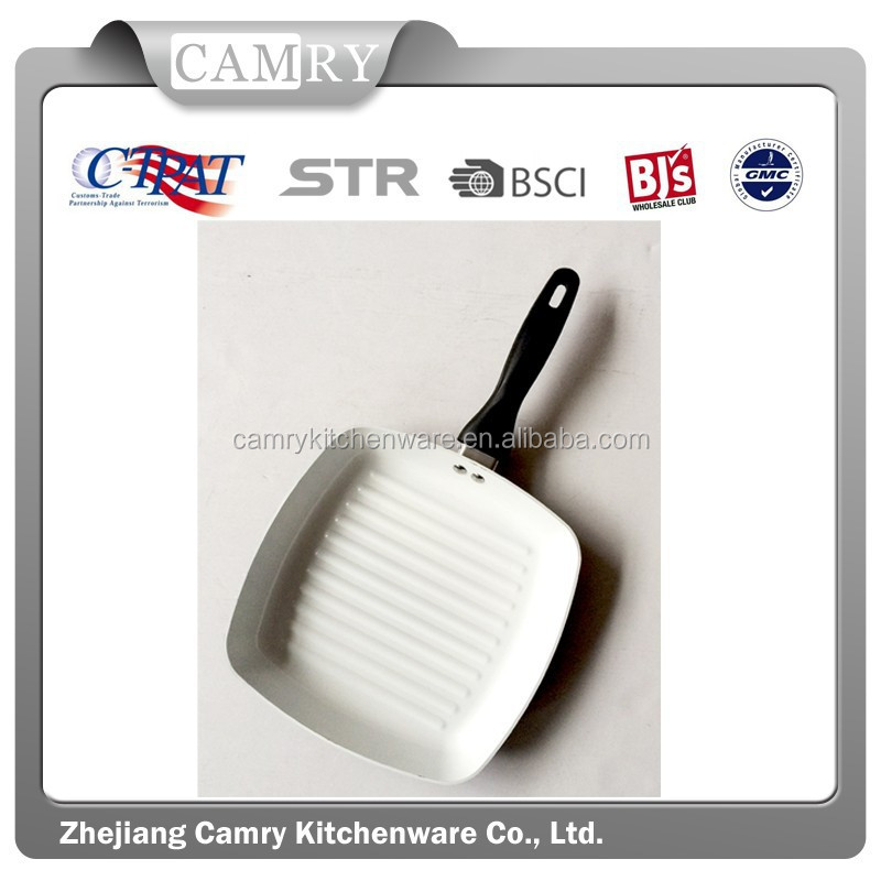 Aluminum Ceramic Square Frying Pan